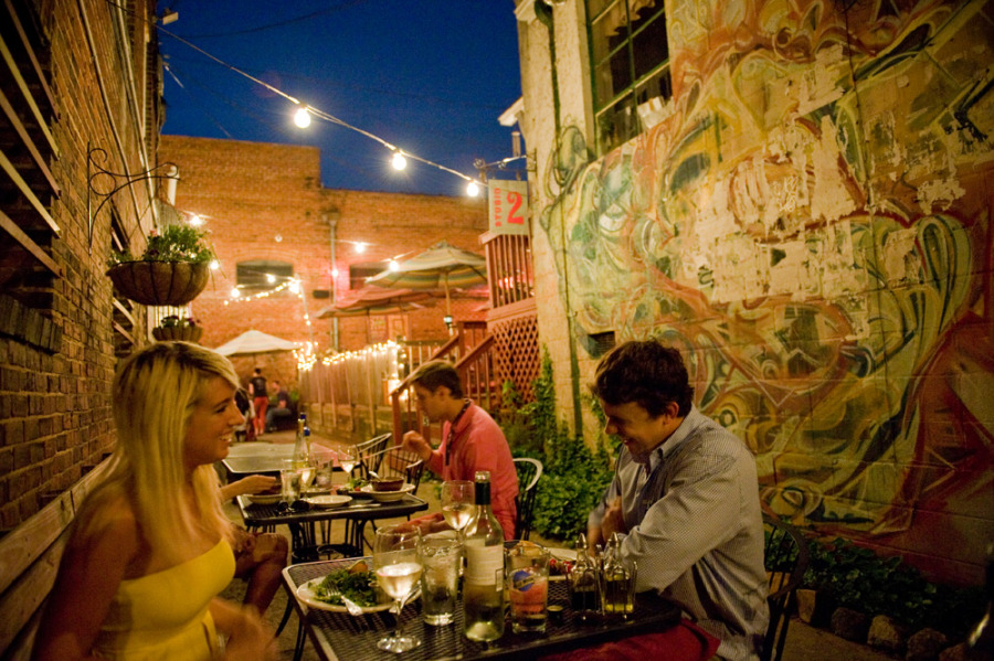 6th and vine patio dining weekends